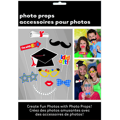 Graduation Photo Props - 10 Pack