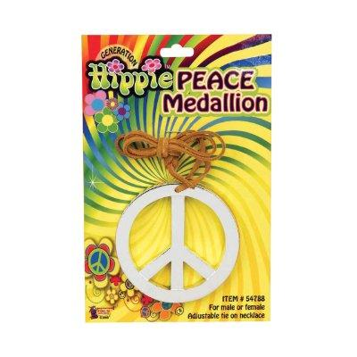 60s Peace Medallion Necklace