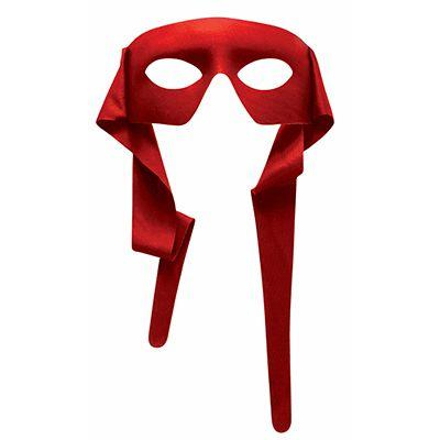 Red Hero Eye Mask
