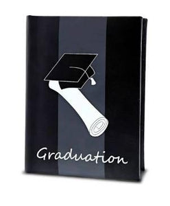 Graduation Black Photo Album