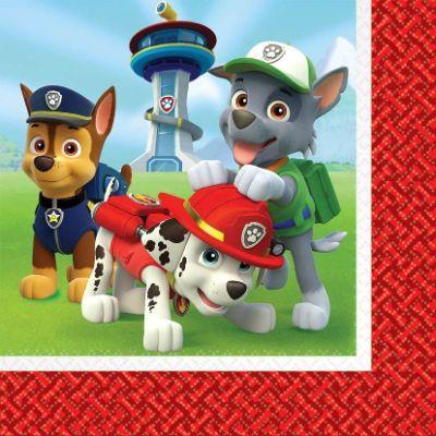 Paw Patrol Luncheon Napkin - 16 Pack