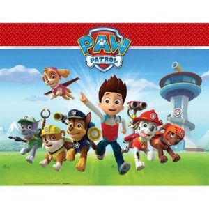 "Paw Patrol Tablecover 54"" x 96"""