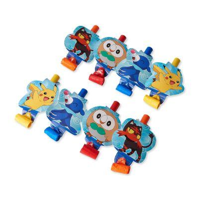 Pokemon Party Blowers - 8 Pack