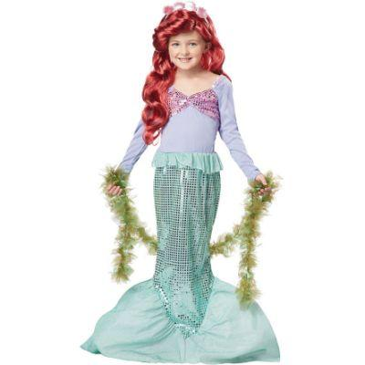 Little Mermaid Princess Child Costume