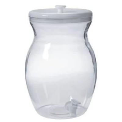 Large Clear Beverage Dispenser
