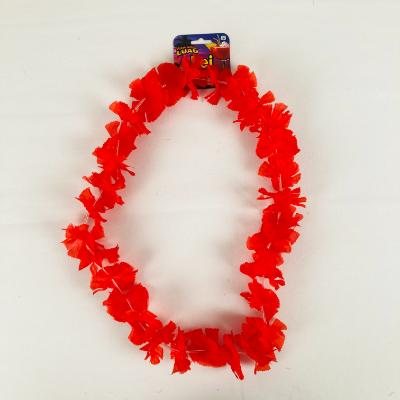 Red Flower Lei
