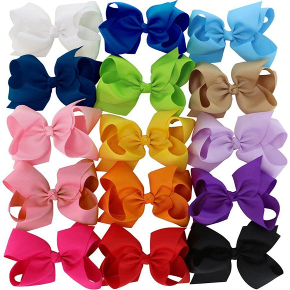 Hair Bow Single - Assorted