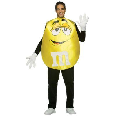 Yellow M&M Adult Costume