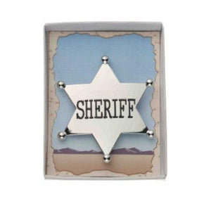 Silver Sheriff Badge