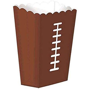 "Football Snack Box 7.5"" - 8 Pack"