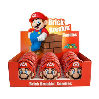 Candy Mario Brick Breakin Tin