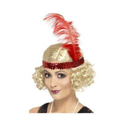Charleston Blonde Headband Wig