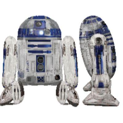 Airwalk R2-D2 Mylar Balloon 38