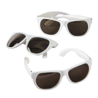 White Nomad Sunglasses - 12 Pack