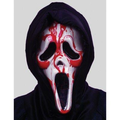 Bleeding Ghost Face Mask - Scream
