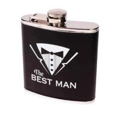 The Best Man Bachelor Flask