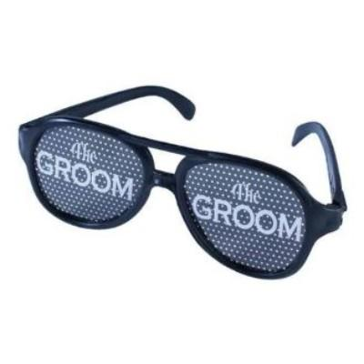 The Groom Bachelor Party Sunglasses