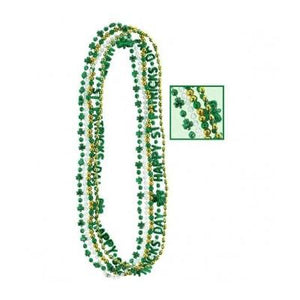 "St. Patrick's Day Beads Assorted 33"" - 5 Pack"