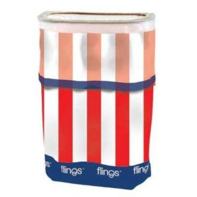Patriotic Pop Up Trash Bin
