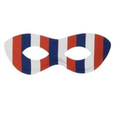 Red White & Blue Eye Mask