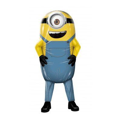 Minion Inflatable Adult Costume - Despicable Me