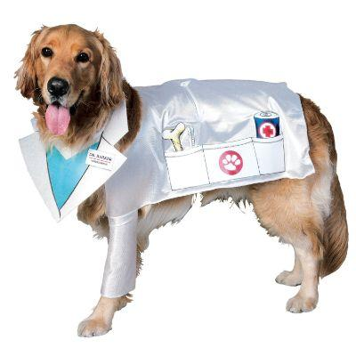 Dr. Barker Pet Costume