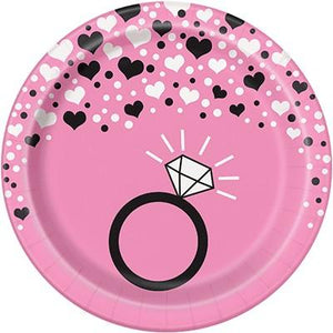 Bachelorette Party Dessert Plate - 8 Pack