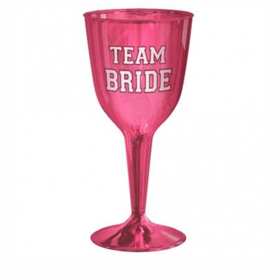Team Bride Wine Glass - 16 Pack