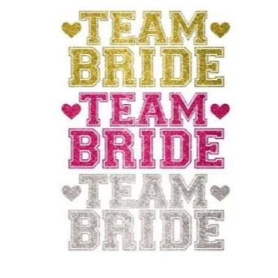 Team Bride Body Jewelry