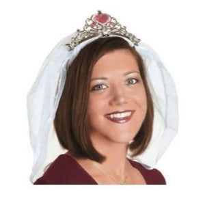 Bachelorette Tiara With Veil