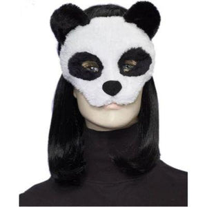 Panda Plush Adult Mask