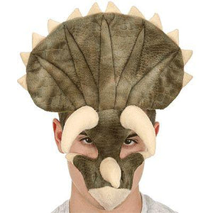 Triceratops Plush Adult Mask