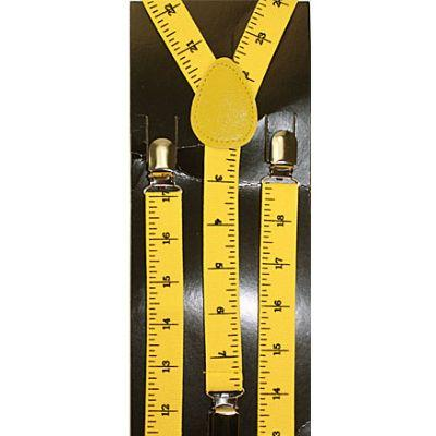 Suspenders Yellow Ruler