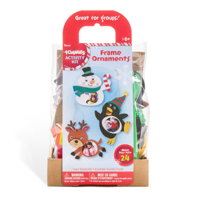Frame Ornaments Craft - 24 Pack