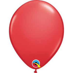 "Red Latex Balloons 5"" - 50 Pack"