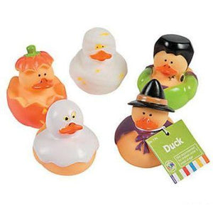 Halloween Rubber Duckies - Assorted