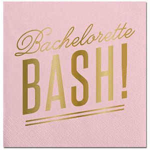 Bachelorette Bash Party Cocktail Napkin - 20 Pack