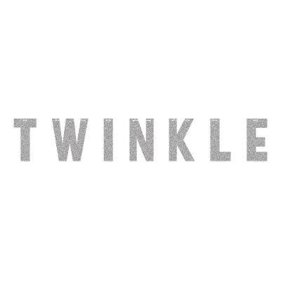 Twinkle Silver Letter Banner 6