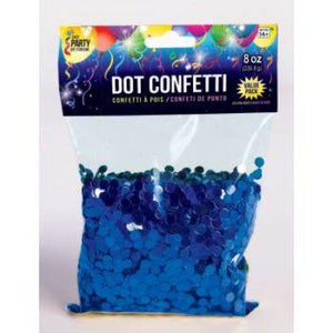 Confetti Dot Blue Ryl 8oz