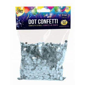 Confetti Dot Blue Light 8oz