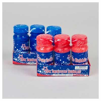 Patriotic Bubbles 4oz - 3 Pack