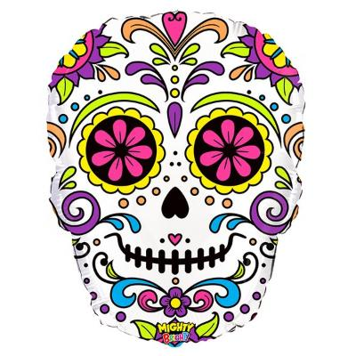 Sugar Skull Mylar Balloon 27