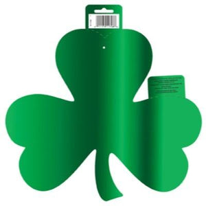 Cutout Shamrock Green Foil 12""
