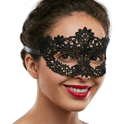 Black Lace Mask - Assorted