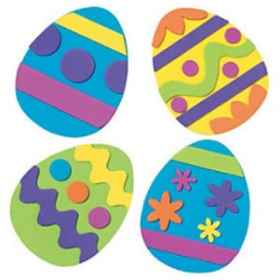 Easter Egg Magnetic Craft Kit - 12 Pack