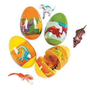 Easter Egg Filled Dinosaur Toy - 12 Pack