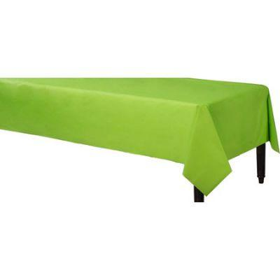 Kiwi Green Heavyweight Plastic Tablecover 54