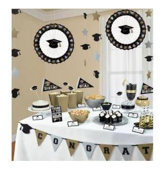 Graduation Buffet Decoration Kit - 23 Pack