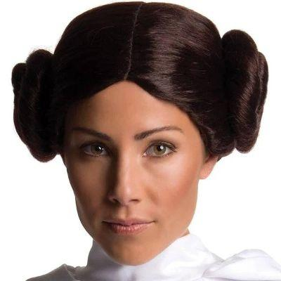 Princess Leia Deluxe Wig - Star Wars