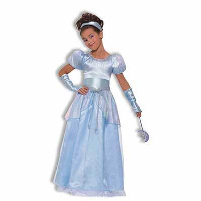 Blue Princess Cinderella Child Costume